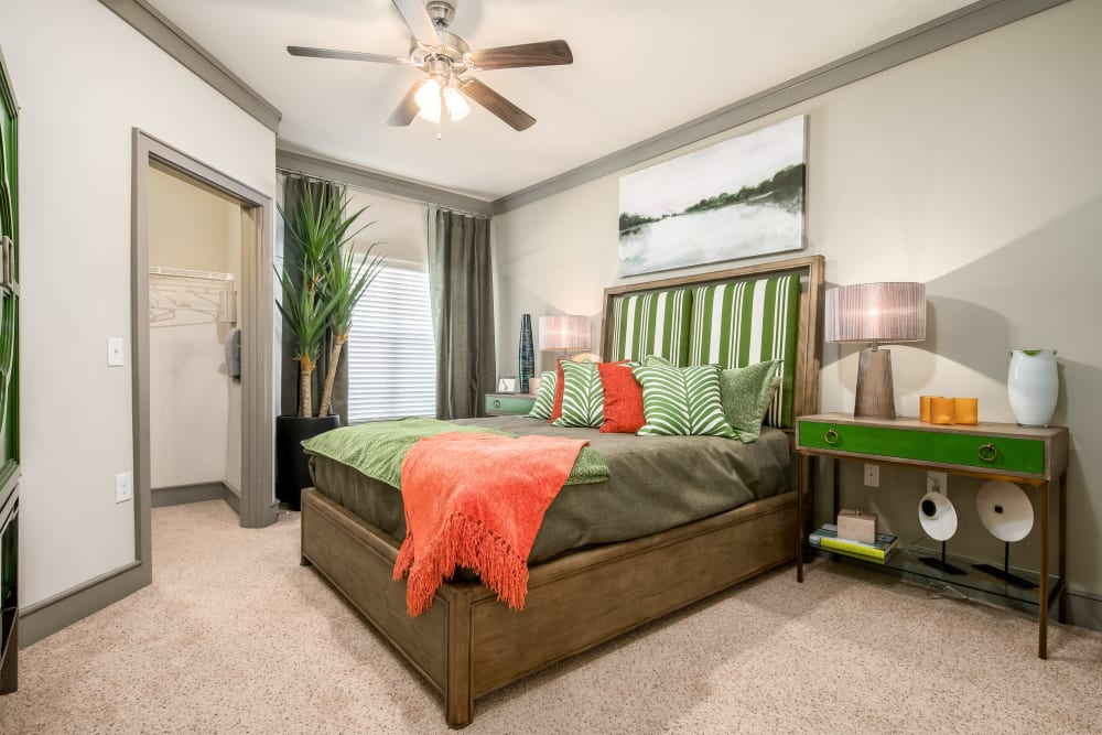 Model Bedroom at Sorrel Phillips Creek Ranch in Frisco, Texas