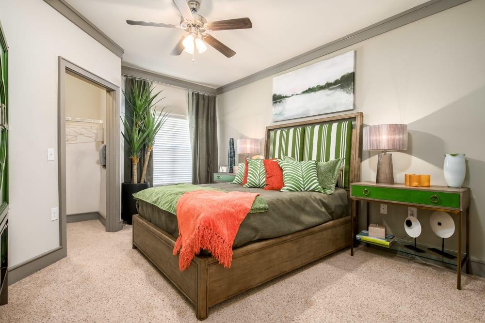 Model Bedroom at Sorrel Phillips Creek Ranch in Frisco, Texas