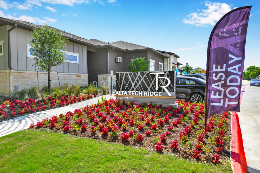 Welcome center at Alta Tech Ridge