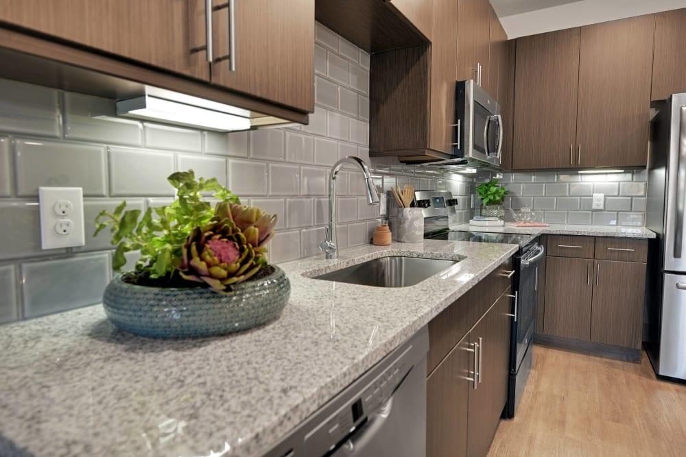 Alta Tech Ridge offers a spacious kitchen in Austin, Texas