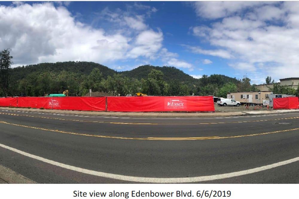 Site view at The Landing a Senior Living Community in Roseburg, Oregon
