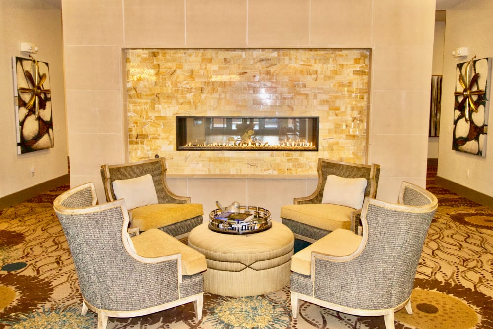 Lovely seating area at Watermere at Frisco in Frisco, Texas