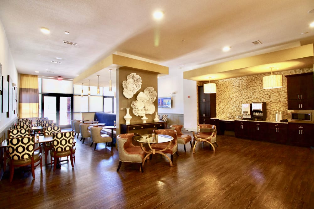 Community area at Watermere at Frisco in Frisco, Texas