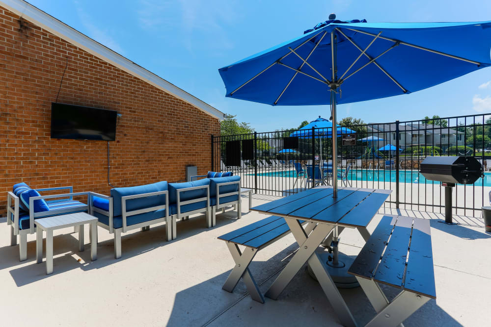 Our Apartments in Nashville, Tennessee offer a BBQ Area