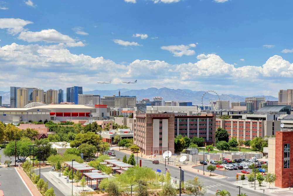 view of neighborhood at the yoU in Las Vegas, NV