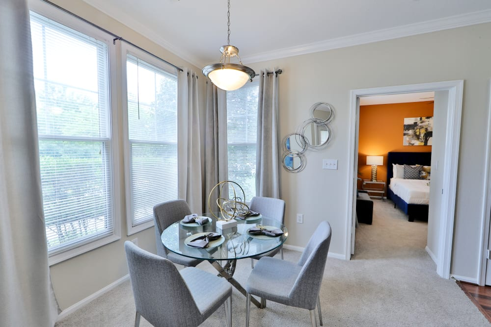 Dining Nook at The Village at Potomac Falls Apartment Homes in Sterling, Virginia