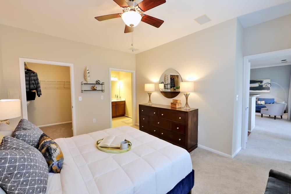 Beautiful Bedroom at Apartments in Sterling, Virginia