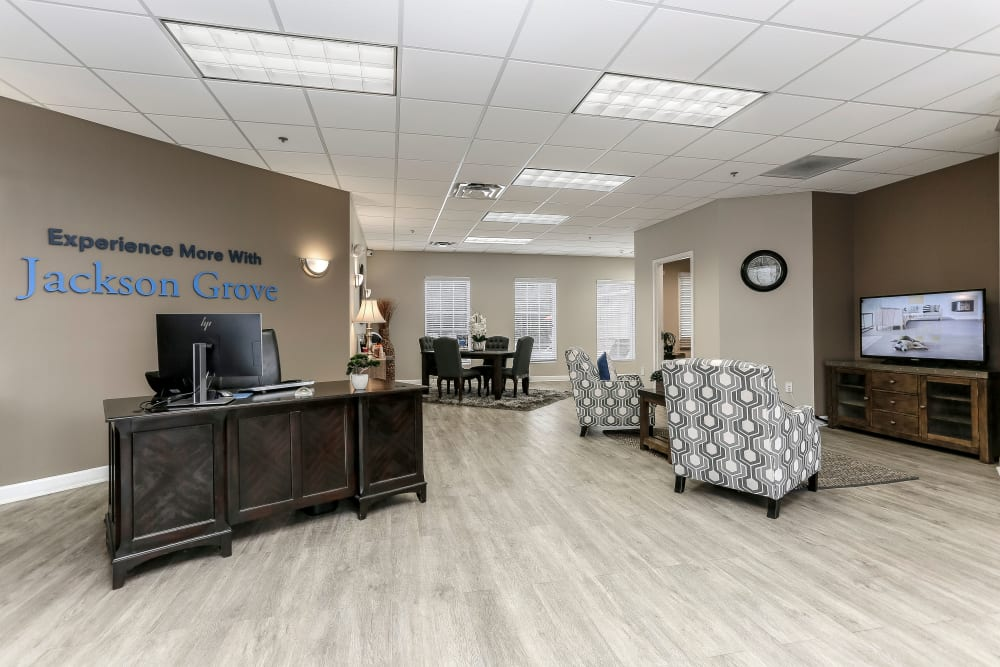 Rental Office at Jackson Grove Apartment Homes in Hermitage, Tennessee