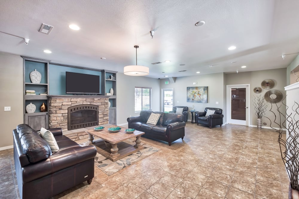 Beautiful Clubhouse at Selway Apartments in Meridian, Idaho