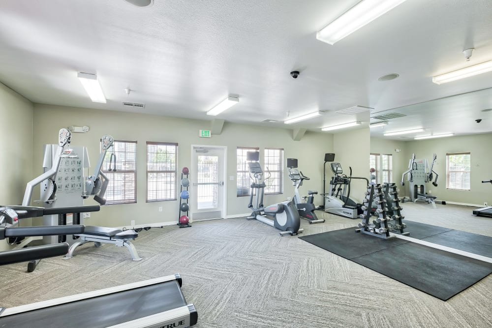 Our Apartments in Meridian, Idaho offer a Gym