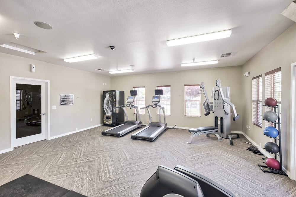 Enjoy Apartments with a Fitness Center at Selway Apartments