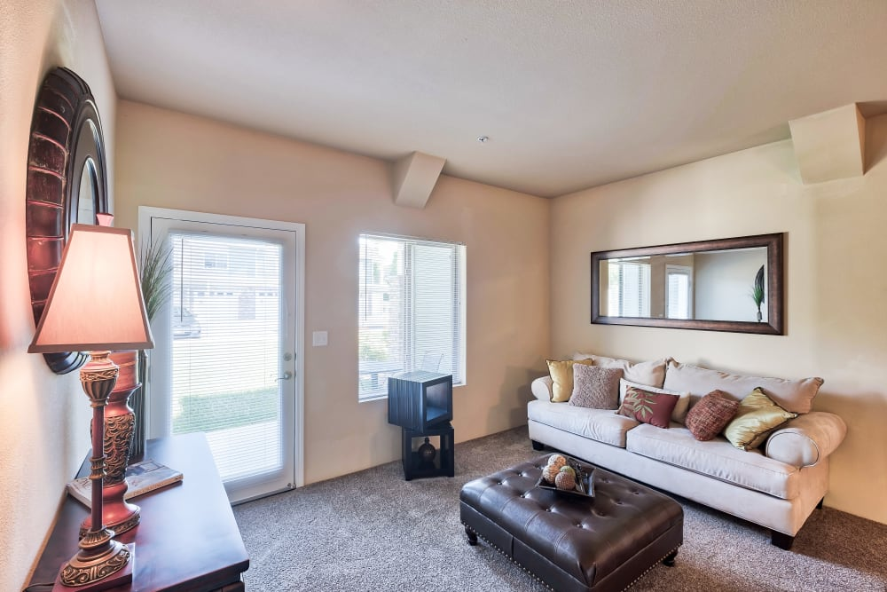Living Room at Selway Apartments in Meridian, Idaho