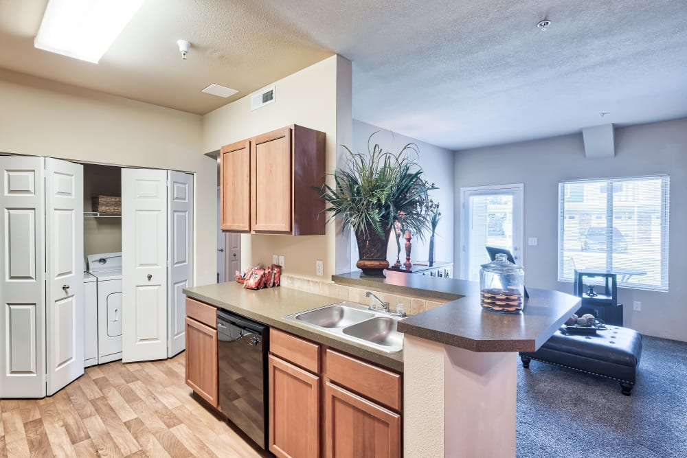 Kitchen at Selway Apartments in Meridian, Idaho