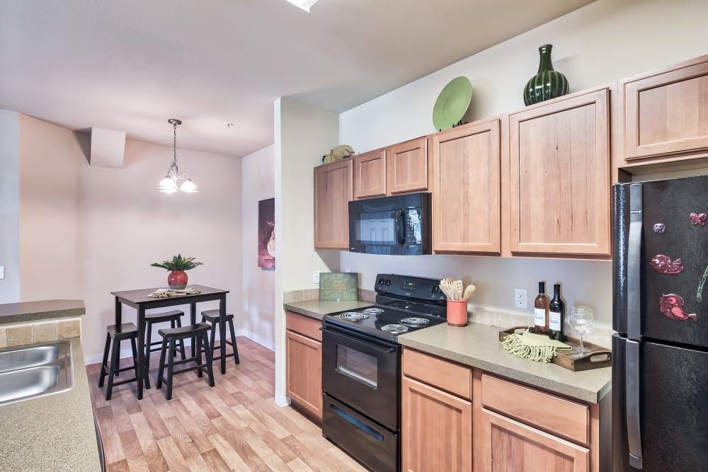 Kitchen at Apartments in Meridian, Idaho