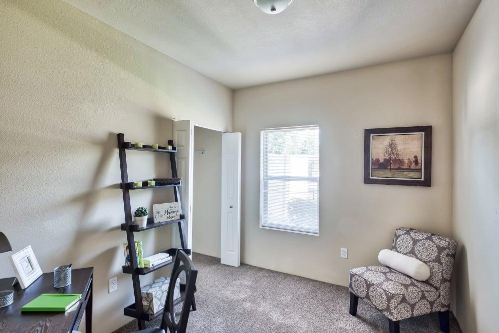 Bedroom at Apartments in Meridian, Idaho