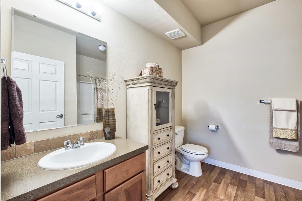 Beautiful Bathroom at Selway Apartments in Meridian, ID