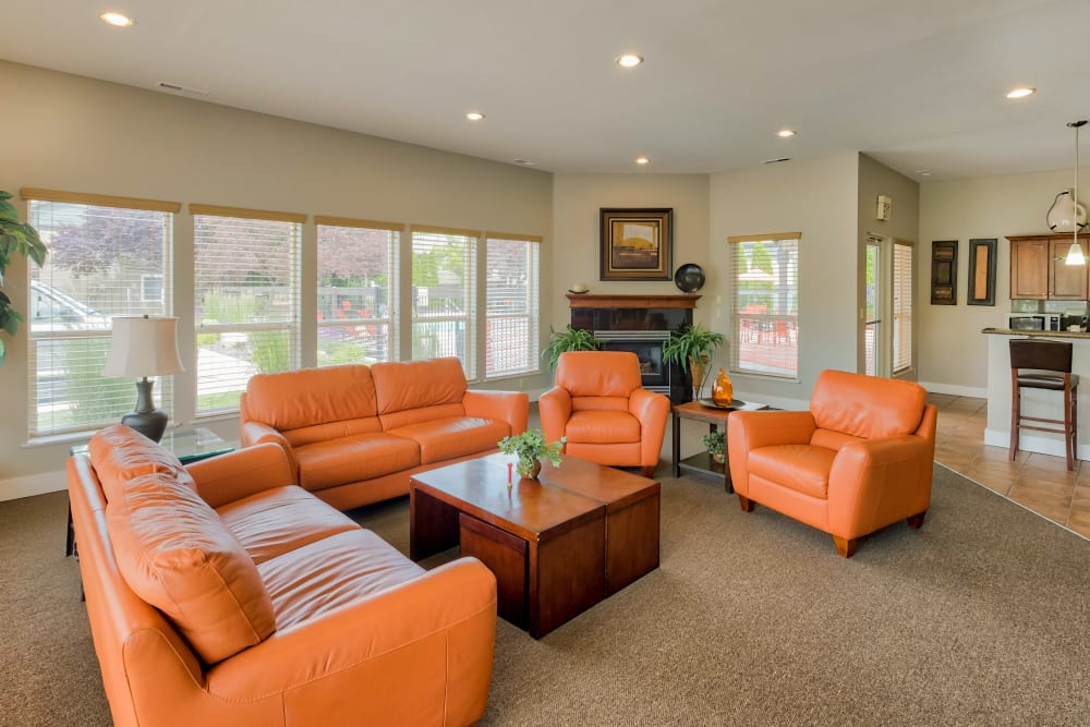 Lounge Area at Monterra Townhomes in Boise, ID