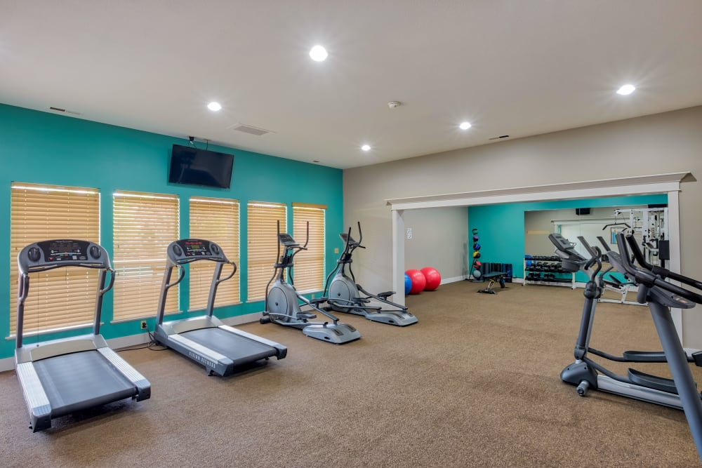 Gym at Monterra Townhomes in Boise, ID