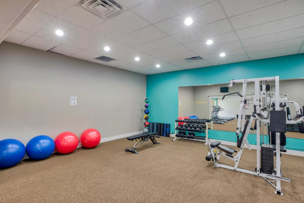 Fitness Center at Monterra Townhomes in Boise, ID