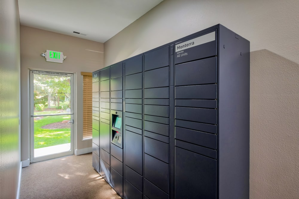 Resident Package Lockers at Monterra Townhomes in Boise, ID