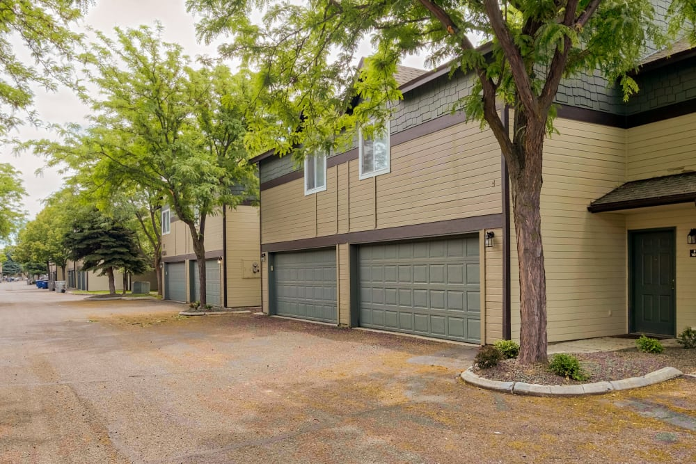 Our Apartments in Boise, Idaho offer Garages