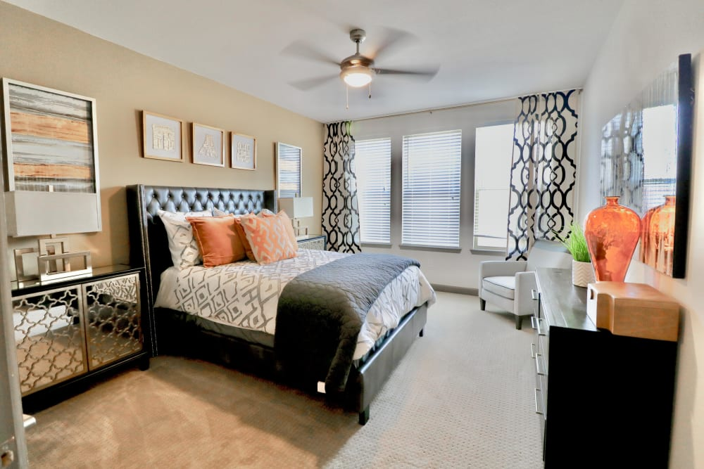 Bedroom at an Integrated Senior Lifestyles community
