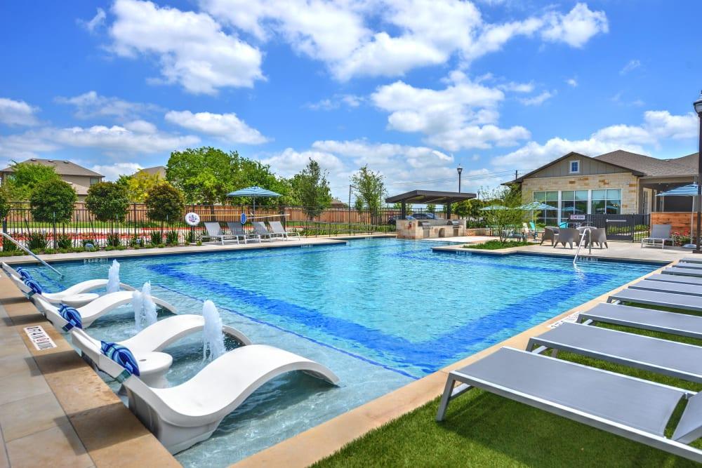 Swimming Pool at Alta Tech Ridge in Austin, Texas