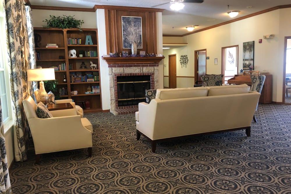 Lounge at Ashbrook Village in Duncan, Oklahoma.