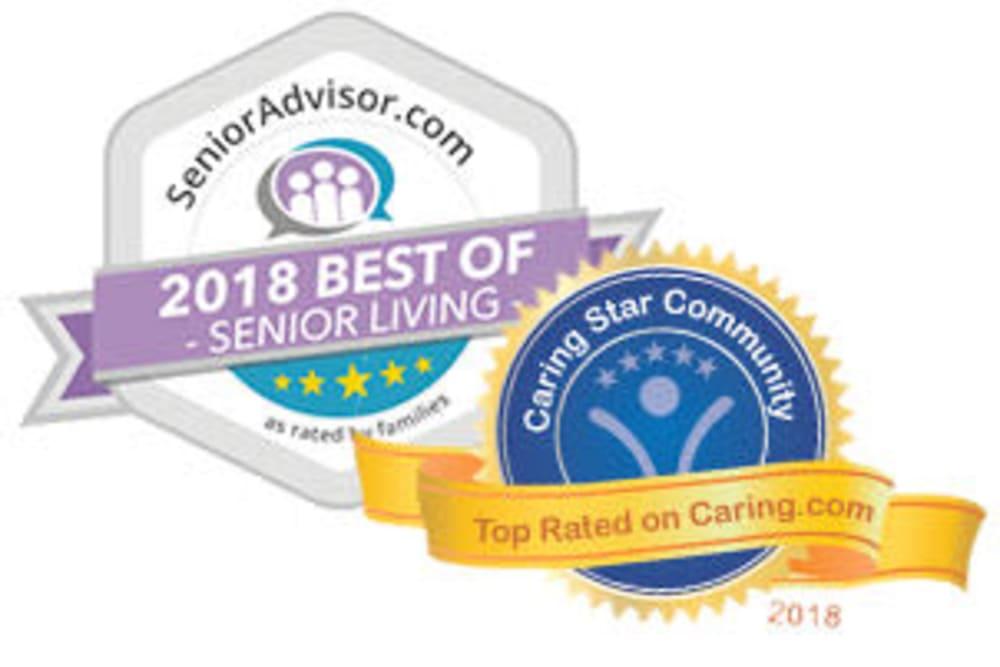 Senioradvisor.com 2018 best of senior living