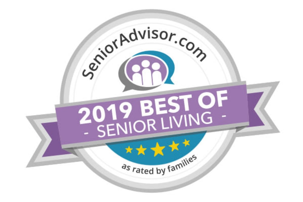 Senioradvisor.com 2019 best of senior living
