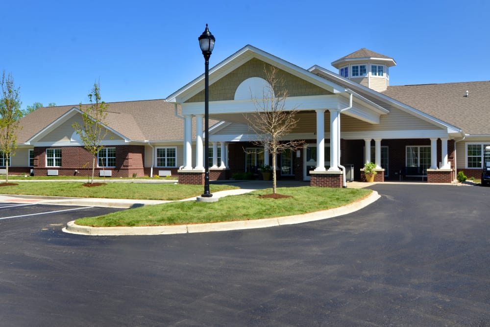 exterior of Sanders Ridge Health Campus in Mt Washington, Kentucky