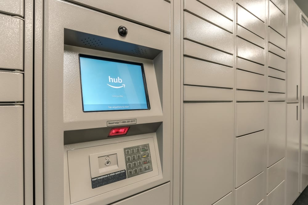 Package Lockers at Lincoya Bay Apartments & Townhomes in Nashville, Tennessee