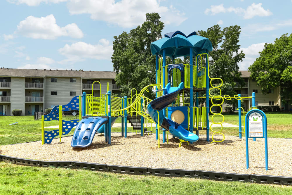 Playground at Lincoya Bay Apartments & Townhomes in Nashville, Tennessee