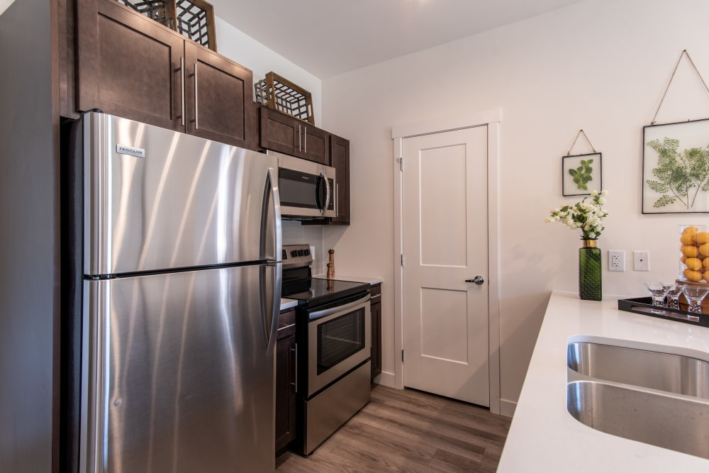 Kitchen at 6 West Apartments in Edwards, CO