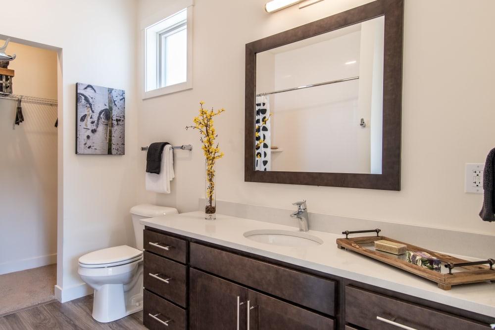 Bathroom at 6 West Apartments in Edwards, Colorado