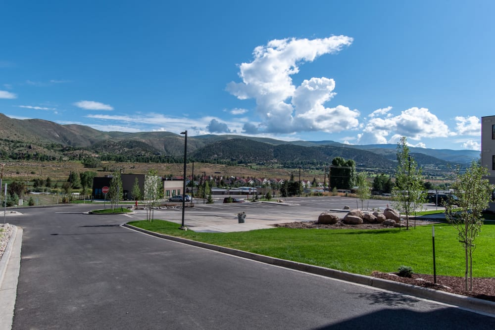 Our Apartments in Edwards, Colorado offer a Plenty of Parking Space