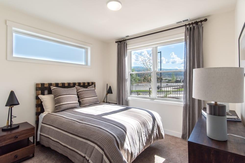 Bedroom at 6 West Apartments in Edwards, Colorado