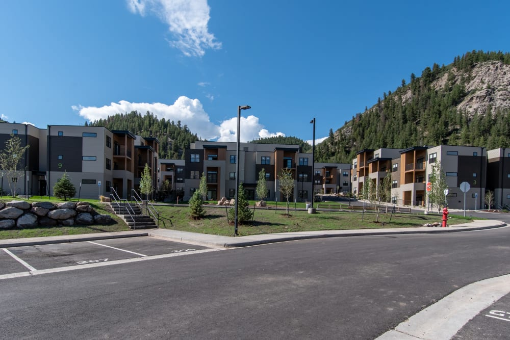 Exterior of 6 West Apartments in Edwards, Colorado