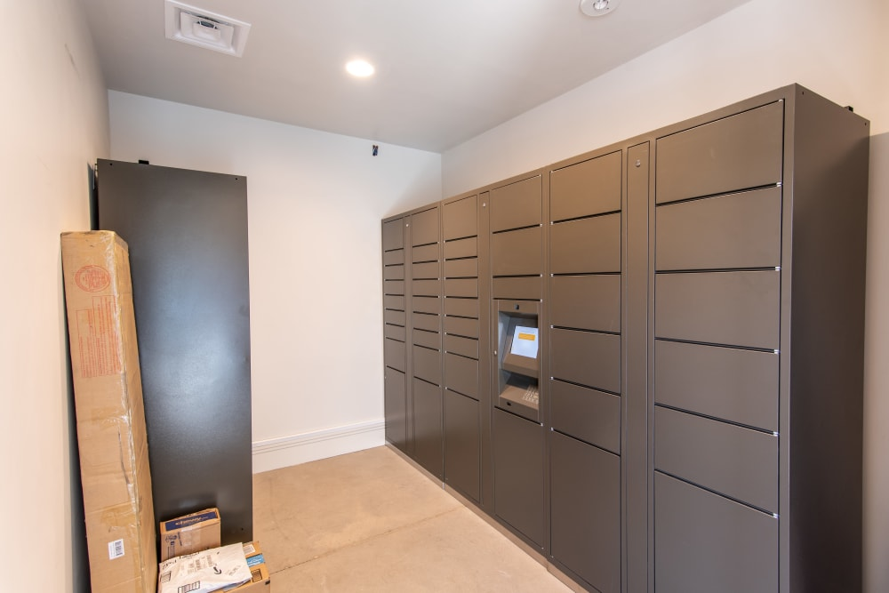 Package Lockers at 6 West Apartments in Edwards, Colorado