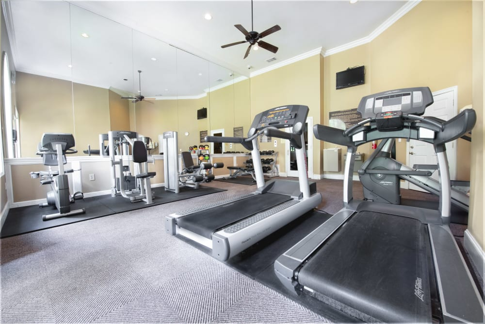Enjoy Apartments with a Fitness Center at Briargrove at Vail