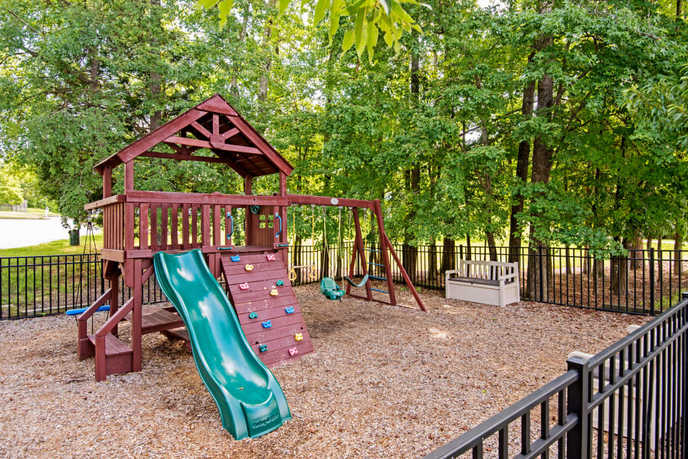 Kids playground at The Flats @ 55 Twelve in Durham, North Carolina