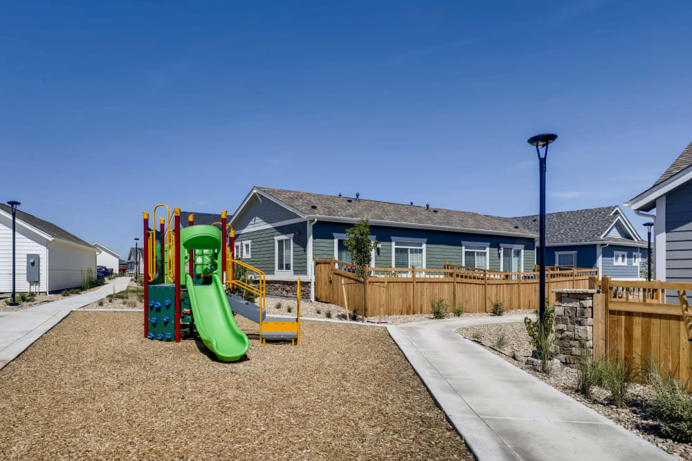 Playground at Avilla Buffalo Run in Commerce City, Colorado
