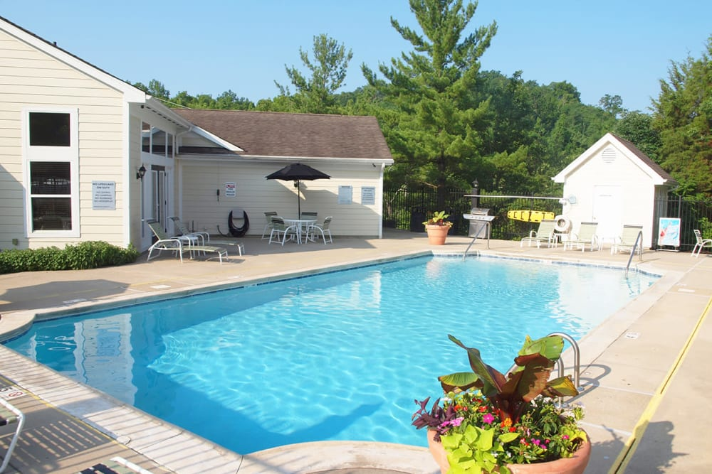 Swimming pool at Fox Chase South in Southgate, Kentucky