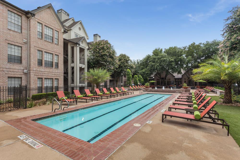 Lap pool at Greenbriar Park in Houston, Texas