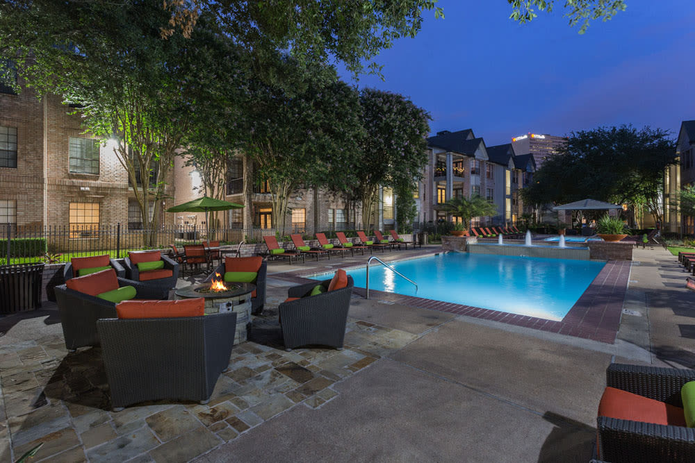 Relax by the pool at Greenbriar Park in Houston, Texas