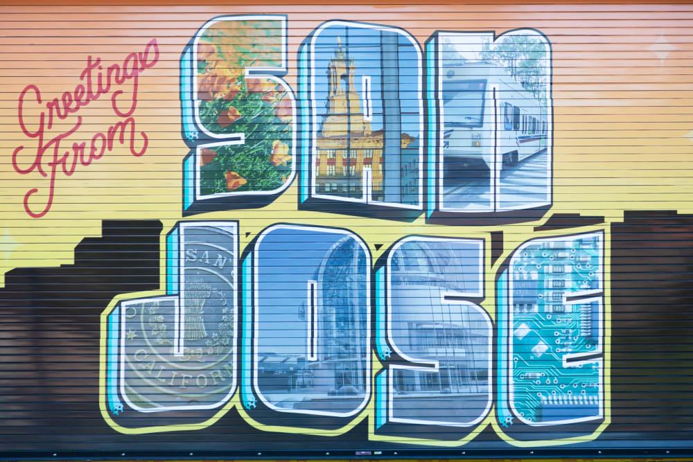 San Jose art near Sparq
