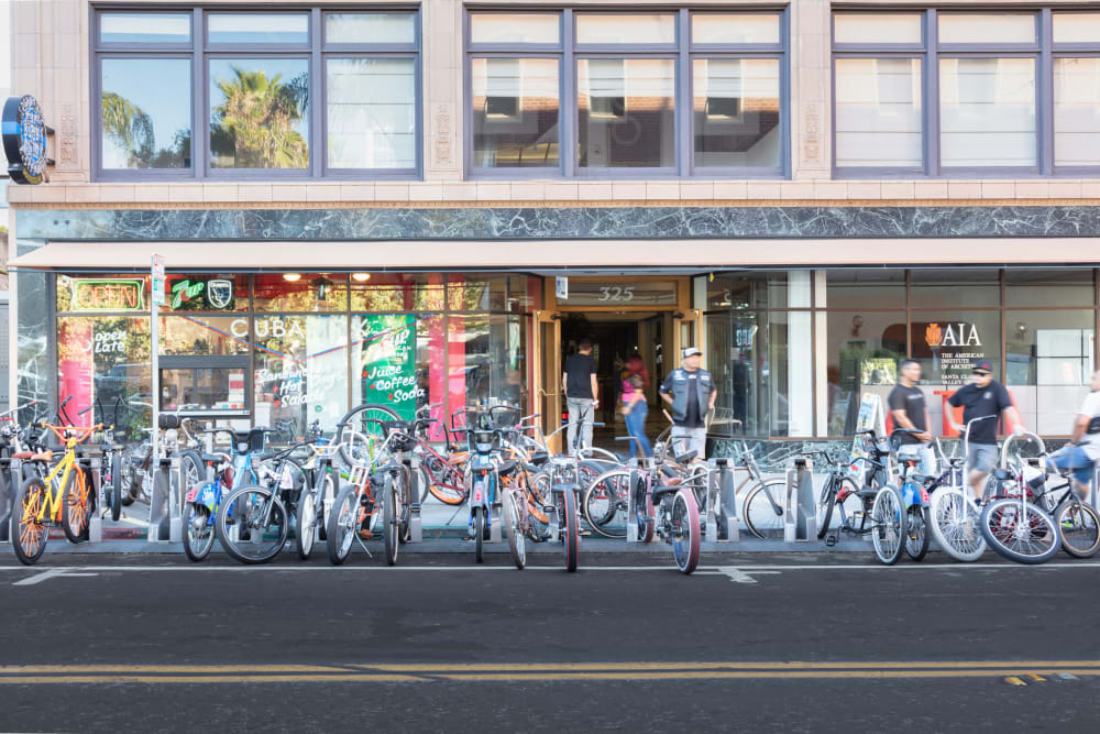 Sparq is in downtown San Jose and accessible to everything by bike