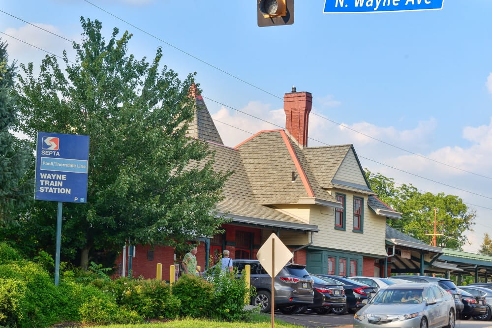Enjoy living in a great neighborhood at Stonegate at Devon Apartments in Devon, PA