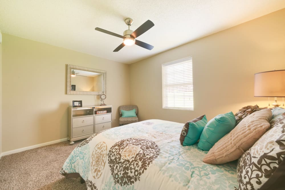 Bed model at Bowman Heights in Little Rock, Arkansas