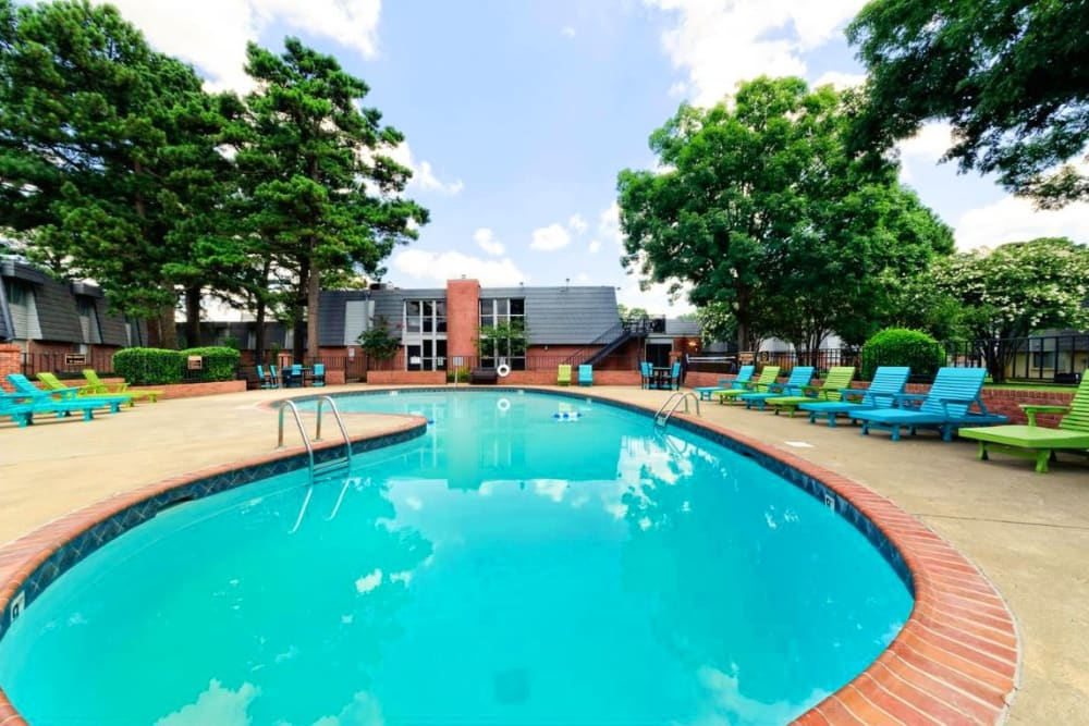 Second pool available at The Waterford in Little Rock, Arkansas